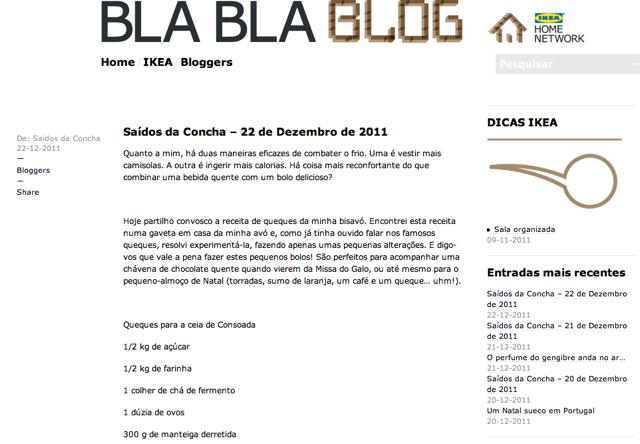 Bla bla bla blog