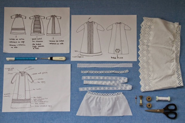 planning a christening gown