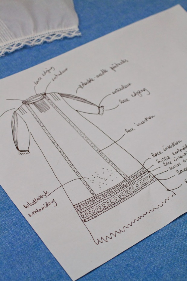 planning a christening gown heirloom sewing