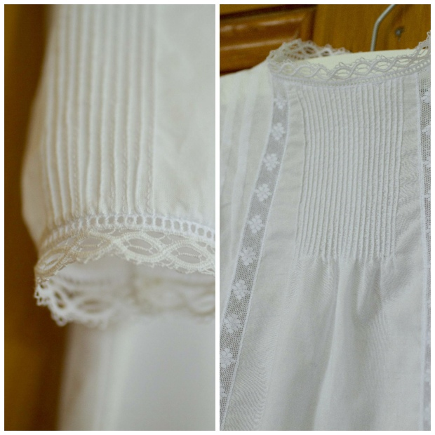 heirloom sewing by Constanca Cabral christening gown
