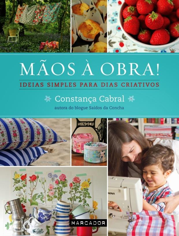 capa livro MÃOS À OBRA de Constança Cabral