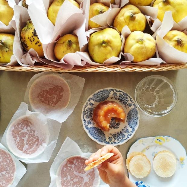 quince paste (marmelada) by Constanca Cabral