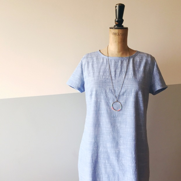 the Camber Set Dress, pattern by Merchant & Mills, sewn by Constanca Cabral