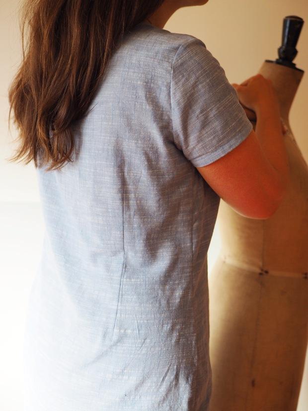 contour dart on Camber Set Dress