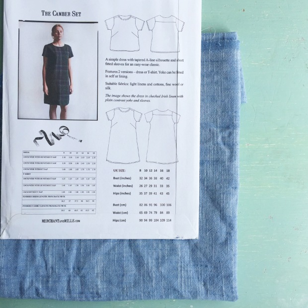 the camber set pattern by Merchant & Mills